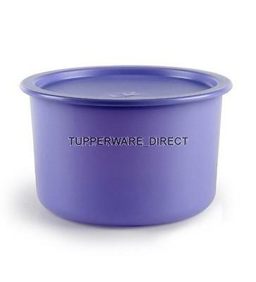 Tupperware OTT One Touch Topper Container - 650ml - Blue- Free Shipping
