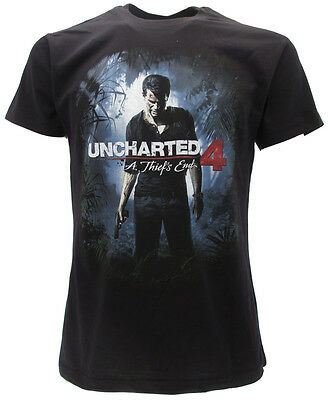 T-shirt Uncharted 4 'A Thief's end'