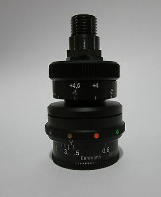 #570 Gehmann Rearsight Iris,  6 color Filters & 1,5X Diopter Made in Germany!