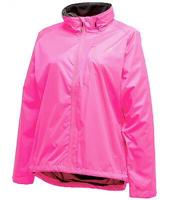 Dare2b Luminous Waterproof Ladies Running Jacket - Pink