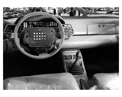 1982 Lancia Orca Interior ORIGINAL Factory Photo oub1875