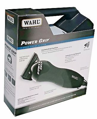 Wahl Professional Animal Clipper Power Grip 2 Speed 8879 Faster #10 Wide Blade