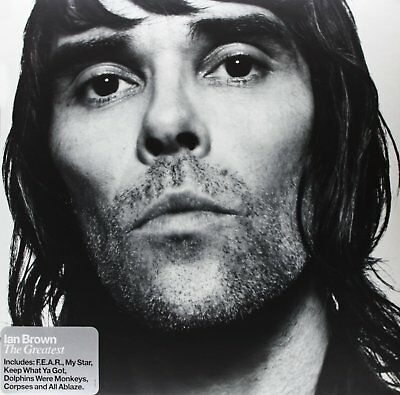 IAN BROWN The Greatest 2LP Vinyl NEW 2005