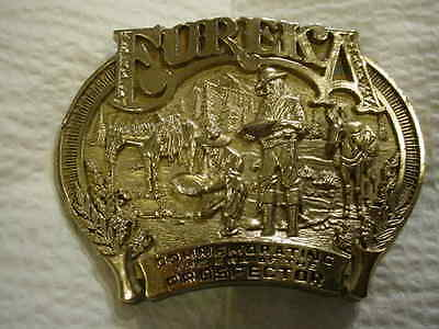 Commemorating Prospector Buckle Solid brass