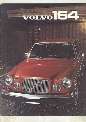 1976 Volvo 164 Brochure my7131
