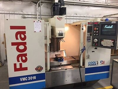 USED FADAL VMC 3016HT 2001 10k spindle 32MP Vertical Machining Center HAAS VF-2