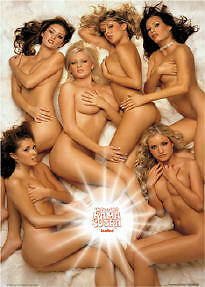 LOADED ~ KAMA SUTRA GIRLS 24x36 PINUP POSTER NEW/ROLLED!