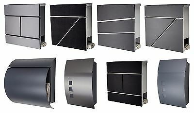 Designer Mailbox Stainless steel MANY COLORS EXCLUSIVE