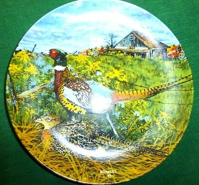 Knowles Plate THE PHEASANT by Wayne Anderson Upland Birds of North America 1986