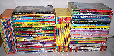 Mixed Collection of 67 Paperback/Softcover Children's Books (Grades 2-4)