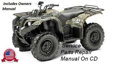 2007 2009 yamaha grizzly 550fi 700fi oem owners manual service rh picclick com 2009 yamaha grizzly 550 service manual yamaha grizzly 550 service manual