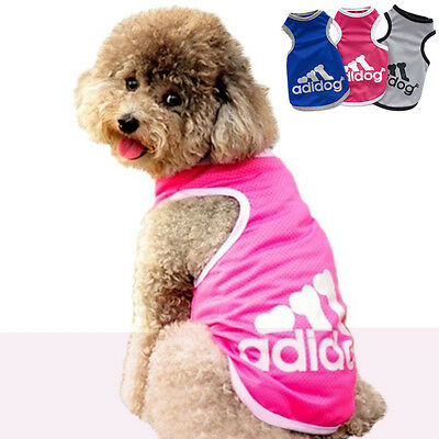 Pet Dog Cat Puppy Hoodie Coat For Small Pet Dog Vest Costume Apparel New Pink