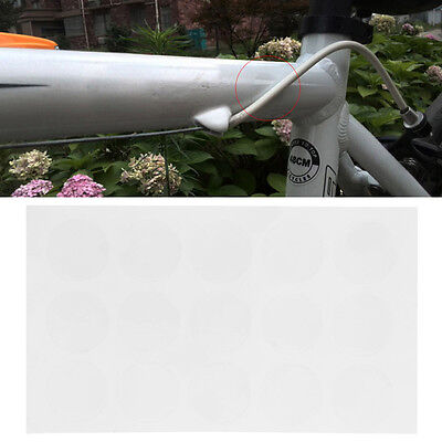 15Pcs Anti Scratch Sheet Bike Bicycle Frame Protector Transparent Stickers New