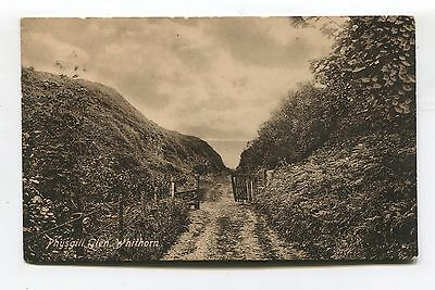 Whithorn - Physgill Glen - 1922 used  Dumfries and Galloway postcard