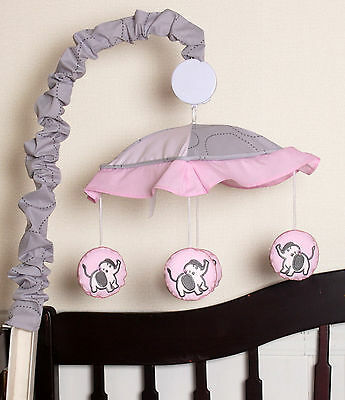 Musical Mobile For Elephant Bedding Set