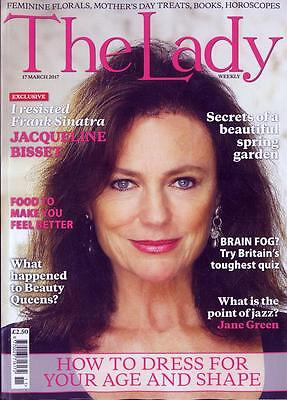 UK LADY Magazine March 2017 JACQUELINE BISSET PHOTO COVER INTERVIEW
