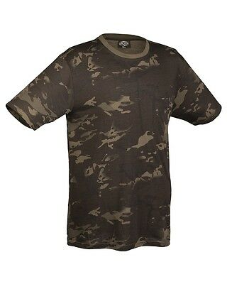 T-Shirt Black Multicam Military Army Bundeswehr Armee Bw Airsoft Outdoor