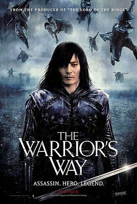 Warriors Way - original DS movie poster D/S 27x40