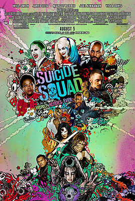 Suicide Squad - original DS movie poster - D/S 27x40 - Final