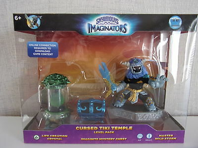 Skylanders Imaginators Cursed Tiki Temple Level Pack (Wild Storm..) - Neu & OVP