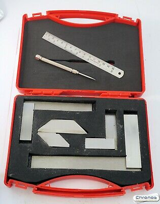Soba Engineers Precision Marking Set 150675 Squares Rule Scriber etc