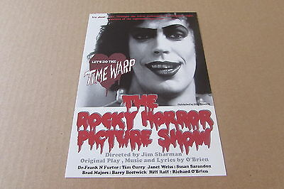 Rocky Horror Picture Show Curry Weiss Sarandon  Flyer From Japan (Mar 01)