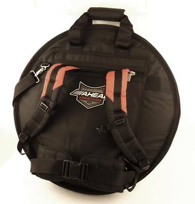 Ahead Armor Deluxe Cym Bag W/Ruck Straps