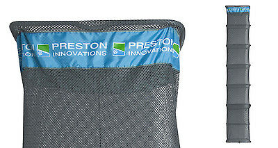Preston Innovations NEW Match Fishing Quick Dry Silver Keepnet 2.5m  FKNET9