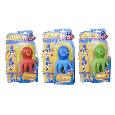 Stretch Armstrong 'Stretch Octopus', CHOICE OF COLOUR, ONE SUPPLIED, NEW