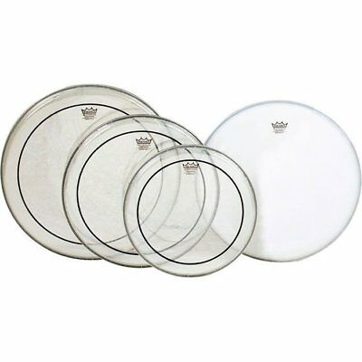 Remo Pinstripe Clear Fusion Pro Pack