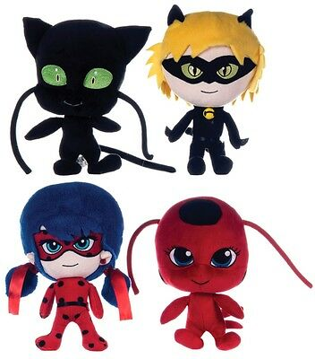"New Official 10"" Miraculous Plush Soft Toy"