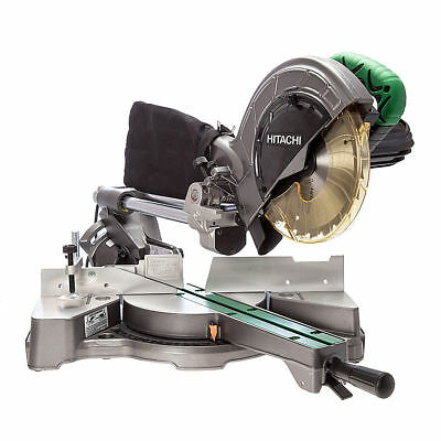 Hitachi C8FSE 216mm/8in Slide Compound Mitre Saw 240V with 2 Blades