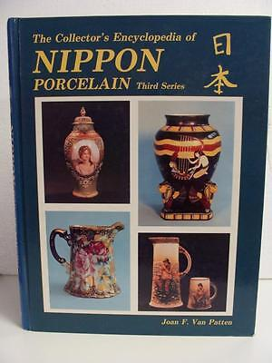 Nippon Porcelain Collectors Hardcover Encyclopedia 1986 Updated Prices