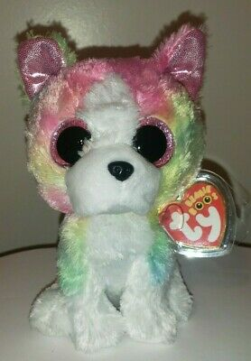 "Ty Beanie Boos - ISLA the 6"" Claires Exclusive Bulldog / Dog ~ 2017 NEW ~IN HAND"