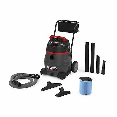 Ridgid Tool Company 50348 1400RV 14 Gal Red Wet/Dry Vac with Cart