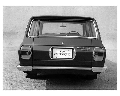 1965 Nissan Cedric Station Wagon ORIGINAL Factory Photo oub2350