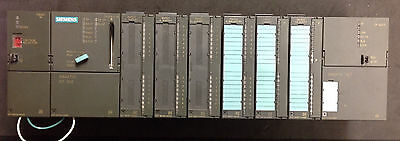 Siemens Simatic S7-300 PLC System, Processor, I/O, Analog, CP Communication LOT
