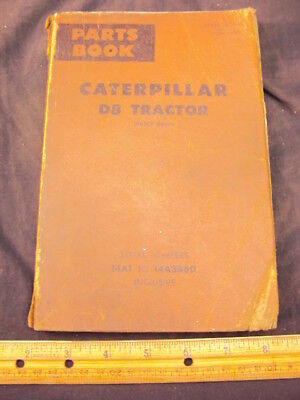 1978 CAT Caterpillar D8 Tractor Parts Manual Book ORIG