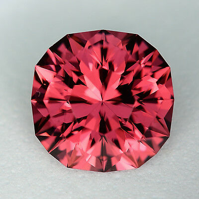 CUSTOM CUT 9mm - 3.98ct - MAHENGE GARNET - TANZANIA - NEW VIDEO!!
