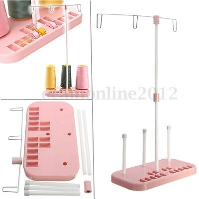 3 Embroidery Thread Spool Holder Rack Stand Sew Quilting for Home Sewing Machine