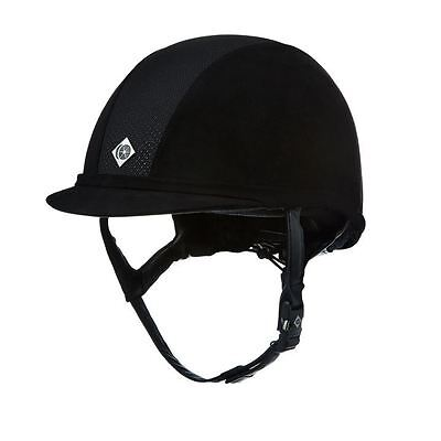 Charles Owen V8 Riding Hat Helmet - PAS 015 and ASTM F1163  SIZE 7 1/4 59CM