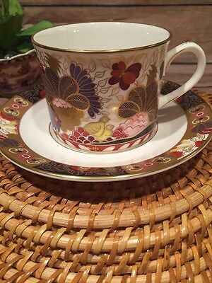 Royal Worcester 1996 Lord Nelson Service Imari  Tea Cup and Saucer