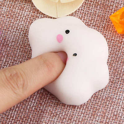 Cute Soft Squishy Squeeze Cloud Slow Rising Cream Bread Kid Toy Stress Gift