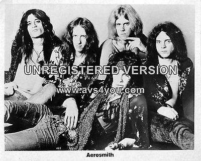 "Aerosmith 10"" x 8"" Photograph no 2"
