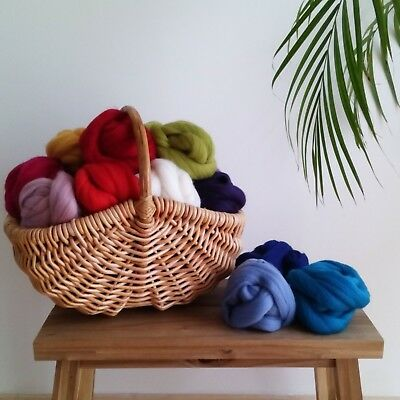 100% Merino Wool for Felting, Giant Yarn Extreme Arm Knitting, 50g - 1kg