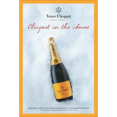 veuve clicquot poster  In the Snow 18 bt 27