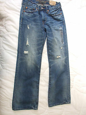 AMERICAN EAGLE OUTFITTERS Men's BLUE Jeans Size W28 X L30~New Condition w tags