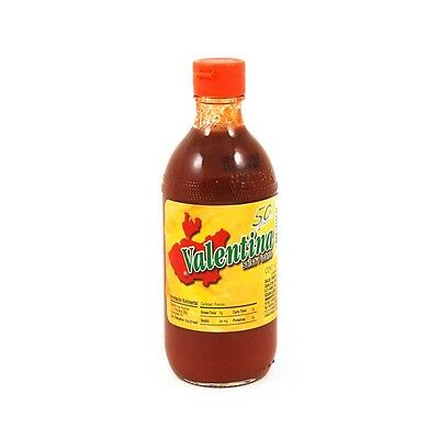 """VALENTINA SALSA RED LABEL"" - MEXICAN Hot Chilli Sauce - 12.5oz  Bottle"
