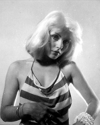 "Blondie 10"" x 8"" Photograph no 24"