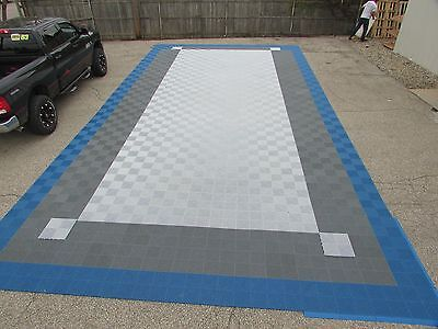 Professional trade show booth flooring Swiss track 20 x 38
